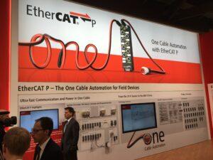 EtherCAT P発表の様子