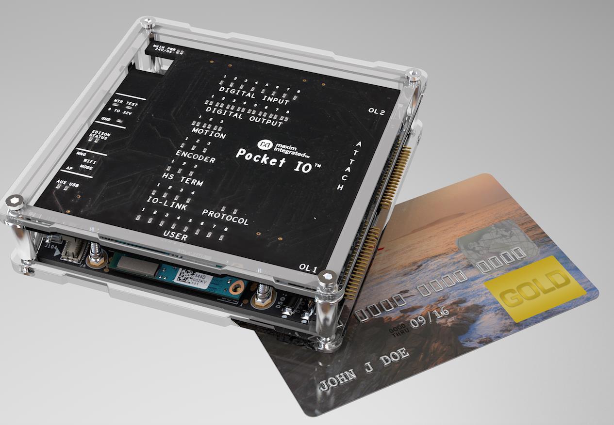 マキシム 超小型PLC 「ポケットIO」発表 I4.0移行を加速