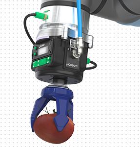 1台2万円!軽い力でやさしく掴む piab、ロボット用真空ソフトグリッパ