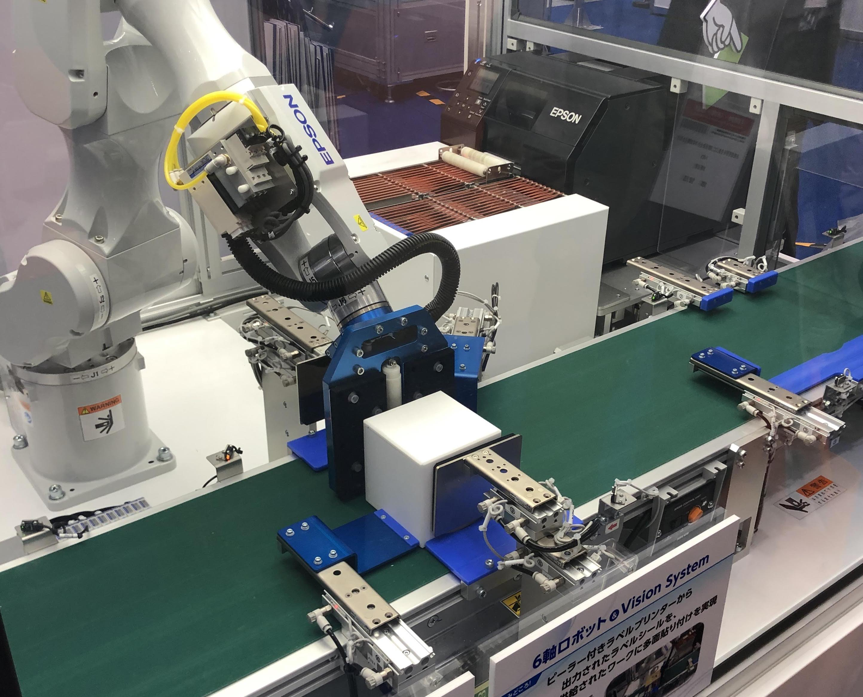 【ロボデックス】エプソン販売、生産性向上のヒントとなるロボット活用法 スカラロボット世界No1シェア