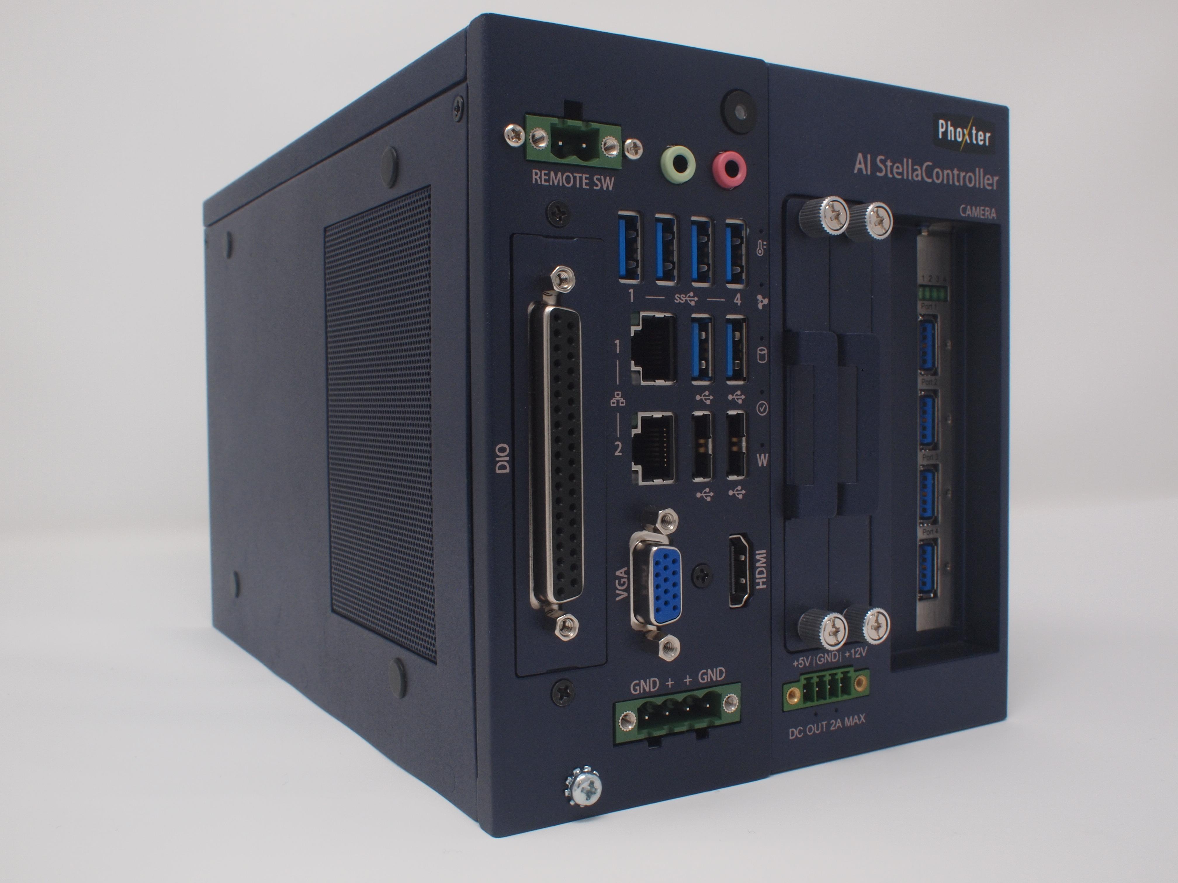フォクスター、AI外観検査対応ハイブリッド画像処理システム 5月、日本・中国同時販売