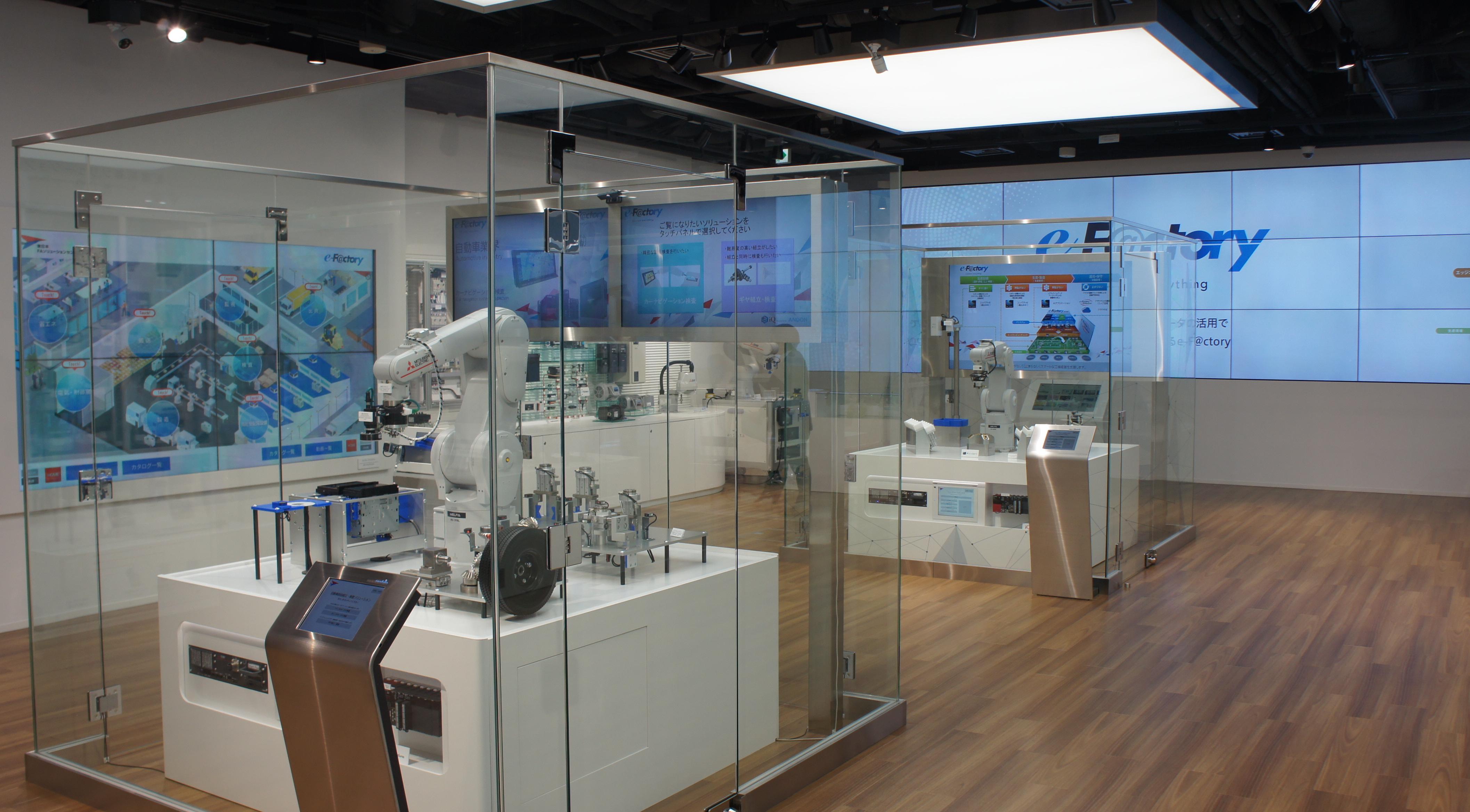 三菱電機 東日本FAソリューションセンター見学記 秋葉原でFA・自動化の最先端を「見て・学び・試す」