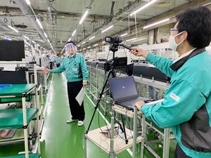 OKI、EMSのオンライン工場立会サービス 工場見学と現場技術者との意見交換も可