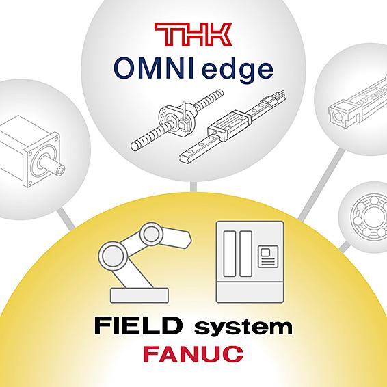 THK、OMINIedge、FIELD systemと連携開始 LMガイド、ボールねじと装置全体の同時モニタリングが可能に