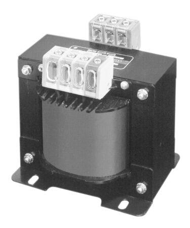 スワロー電機 ねじアップ式フィンガープロテクト端子台搭載電源トランスIP2Xの安全保護構造