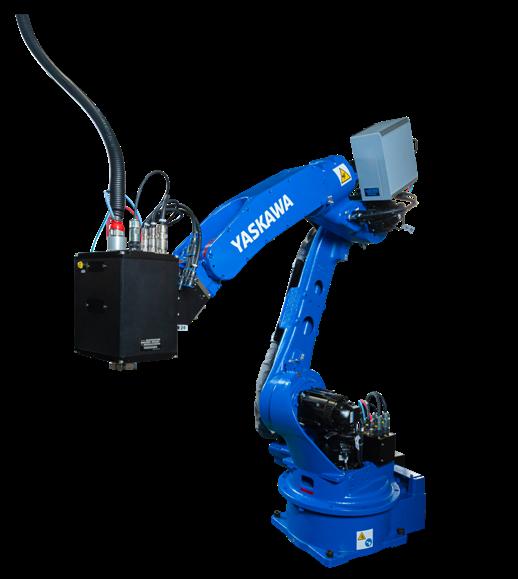 安川電機レーザー溶接パッケージ発売 省スペースで置き換えが容易