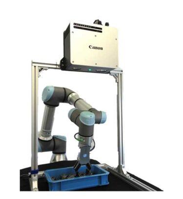 キヤノン3Dマシンビジョンシステムが、UR +認証に URロボットと高親和性