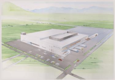 名水美人ファクトリー、岡山県矢掛町にもやし工場。ロボットなど自動化導入