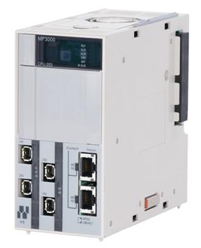 安川電機、マシンコントローラMP3200用CPUユニット販売開始